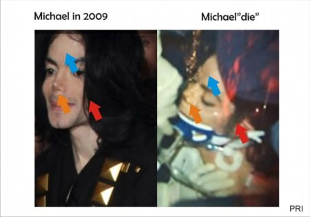 "Michael em 2009 | Michael ""morto"""